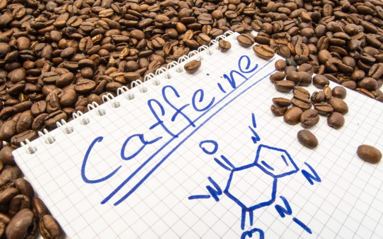 Caffeine as diagnostic tool