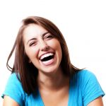 AI | Parkinson's News Today | Woman smiling and laughing