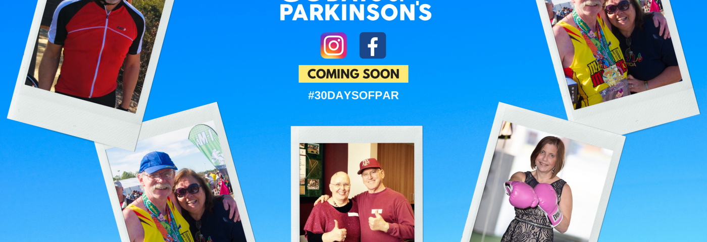 Coming Soon: 30 Days of Parkinson's