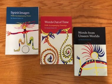 Eleanor's trilogy of books includes Spirit Images, Words Out of Time, and Words from Unseen Worlds.