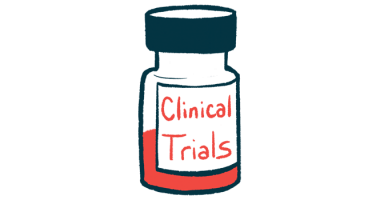 first patient dosed in IkT-148009 trial | Parkinsons's News Today | clinical trial medicine bottle illustration