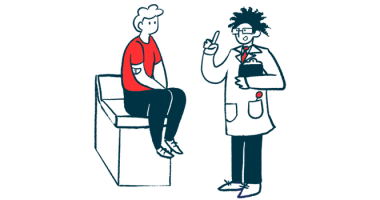 epilepsy therapy zonisamide reduces off time/Parkinson's News Today/patient with doctor illustration