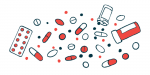 placebo effect | Parkinson's News Today | Illustration of various pills